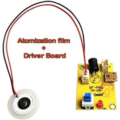 Atomized Chip Drive Plate Module USB Homemade Humidifier Oscillator Spray Head 5V Spray Tablet DIY Electronic Kit