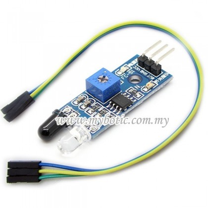 IR Infrared Sensor Obstacle Avoidance Module + FREE 3pcs F-F jumper wire