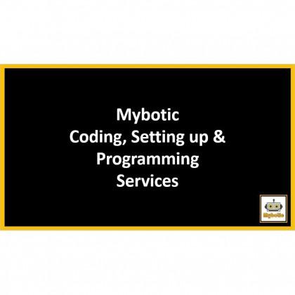 Mybotic Coding, Setting up, Programming Services